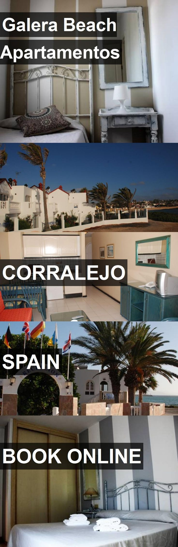 Hotel Galera Beach Apartamentos in Corralejo, Spain. For more information, photos, reviews and best prices please follow the link. #Spain #Corralejo #travel #vacation #hotel