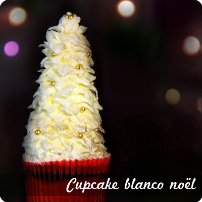 #Cupcakes Blanco Noël.
