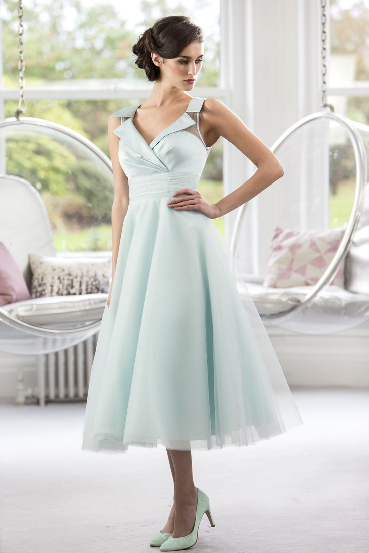 95 best true bridesmaid collection images on pinterest lace tea length retro fifties inspired prom bridesmaid dress with satin bodice true bride fairygothmother ombrellifo Images