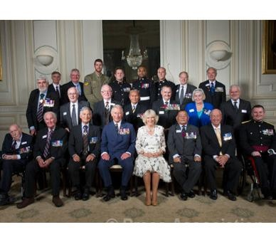 The Prince of Wales and the Victoria Cross and George Cross Association