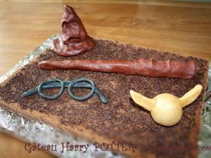Gâteau anniversaire HARRY POTTER