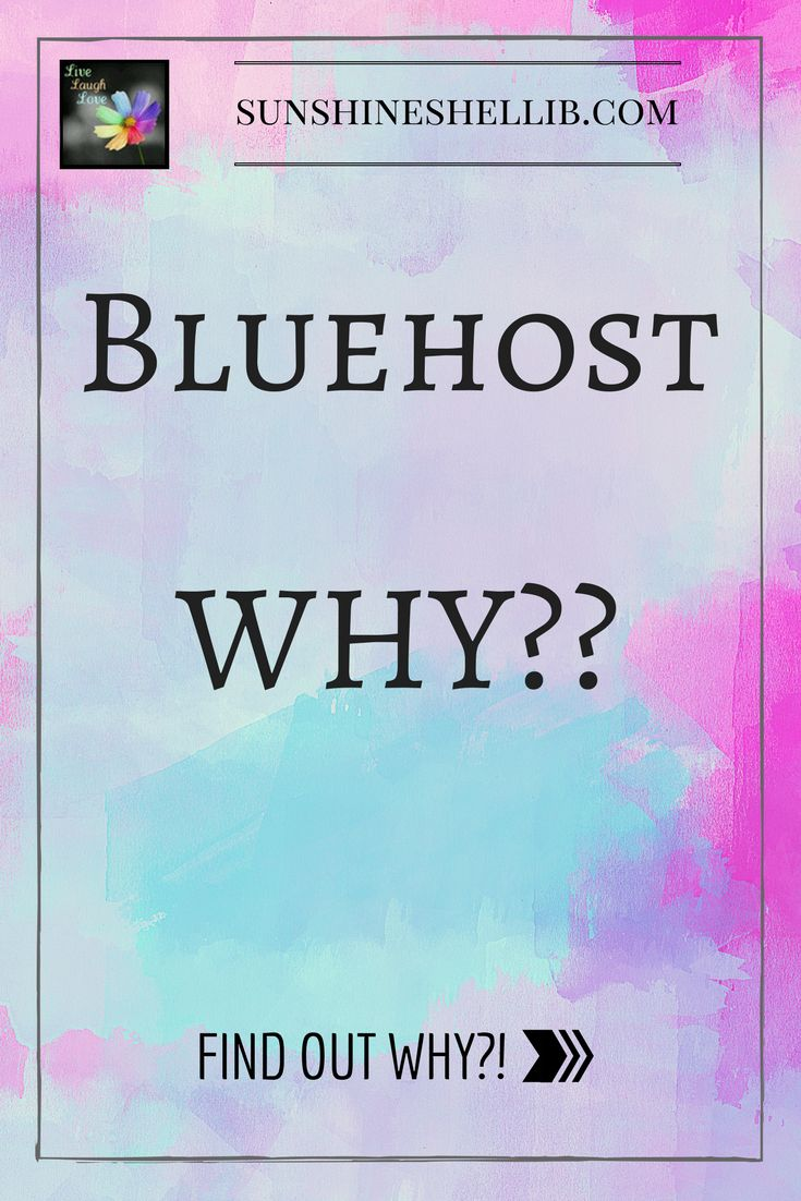Why I have chosen Bluehost as my webhost. #bluehost #webhost #self host