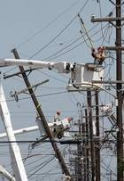 More than 246,000 customers remained without power in LA as of late Sunday morning. That was down from a peak of more than 900,000.The state's largest power provider, Entergy, says its affiliates have reduced the number of outages to 242,465, down from about 704,000 earlier. The company has drawn criticism from residents and some public officials for the pace of restoration.