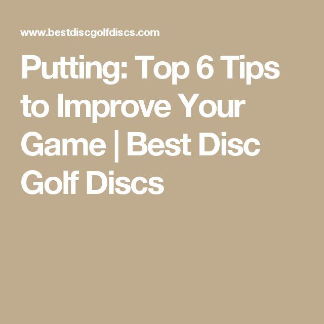 Putting: Top 6 Tips to Improve Your Game   Best Disc Golf Discs #PuttingTipsDude