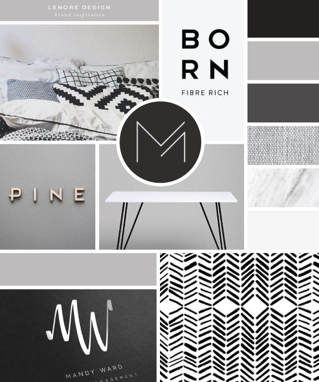 Color Inspiration: Lenore Interior Design - Salted Ink Design Co. | logo, brand, brandstylist, branding, design | Follow this link for all inspiration photo credits