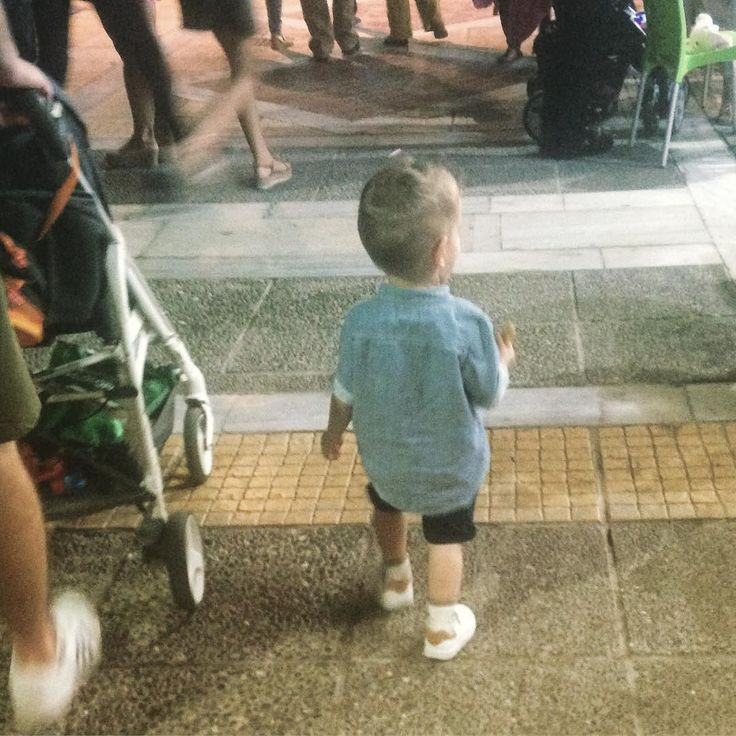 My world... my little man... my little prince... my love...! #busymamascorner #momblogger #momsofinstagram #growingup #growingupsofast #myeverything #nostroller #walkbymyside