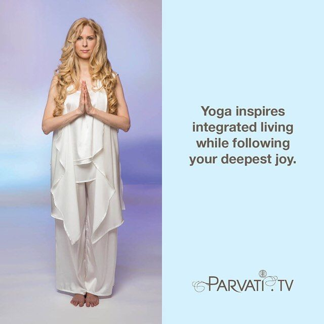 Happy International Yoga Day! Yoga inspires integrated living while following your deepest joy. Stay tuned for more updates today on how you can celebrate with me. And please visit my #blog at parvati.tv/blog to read more about what yoga means to me. Yoga is everywhere!  #parvati #positivepossibilities #positivepossibilitieslady #meditation #yoga #selfrealization #ego #enlightenment #guidance #wisdom #spiritualgrowth #spiritualguidance #spiritualevolution #souljourney #blessings #love…