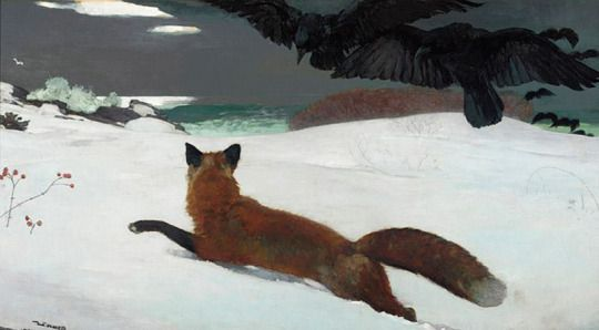 Winslow Homer, Fox Hunt, 1893