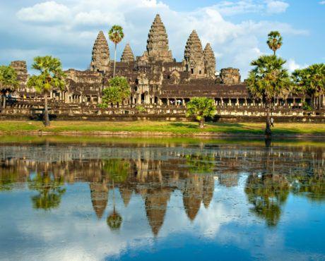 Angkor Wat, Siem reap, Kambodsja