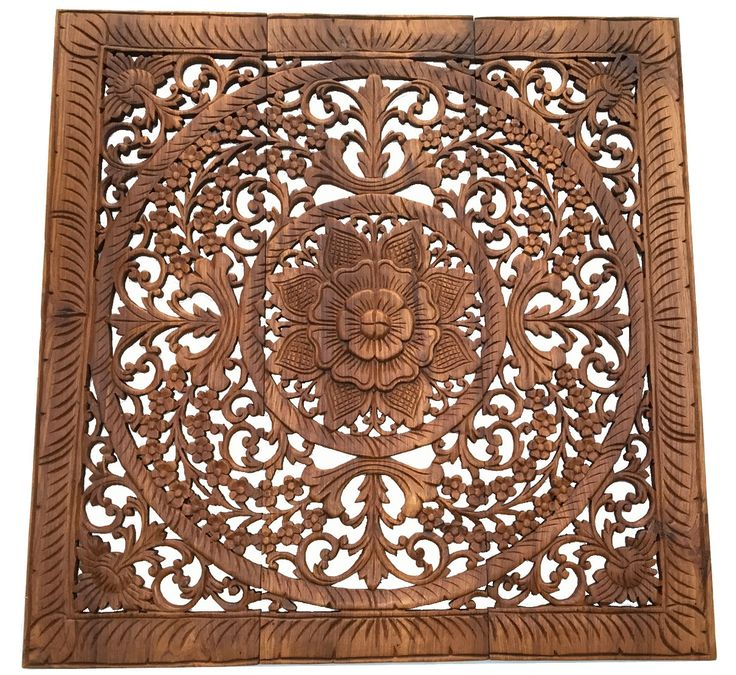 Carved Wall Art elegant wood carved wall plaque. wood carved floral wall art