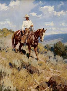 """Jim C. Norton art  ...I love his work, especially this one! """"The Trail Home"""""""