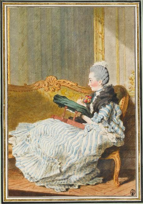 Madame d'Alençon, Carrogis Louis Carmontelle (1717-1806)