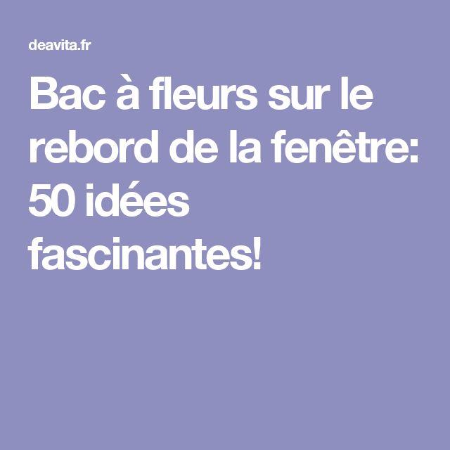 Les 25 meilleures id es concernant bac fleurs sur for Les echanges exterieur cours bac