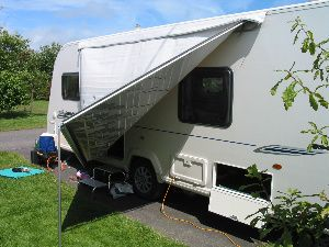 The caravan awning is a very useful and versatile space : canopies for caravans - memphite.com