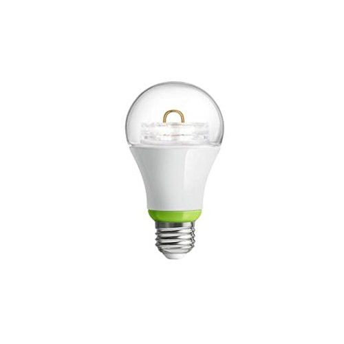 GE Link Smart LED Light Bulb, A19 Soft White (2700K), 60-Watt Equivalent, 1-Pack, Zigbee, Works with Amazon Alexa