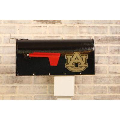 HensonMetalWorks NCAA Curbside Wall Mounted Mailbox NCAA Team: Auburn University