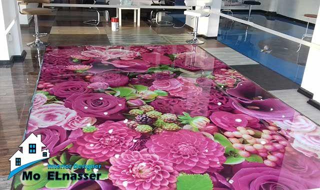 3d Epoxy Flooring ارضيات ايبوكسى ثلاثية الابعاد Epoxy Floor 3d Epoxy Floor Table Decorations