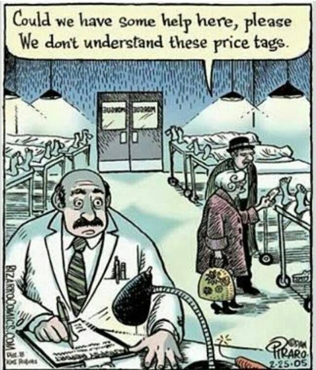 Price tags by Bizarro Comics