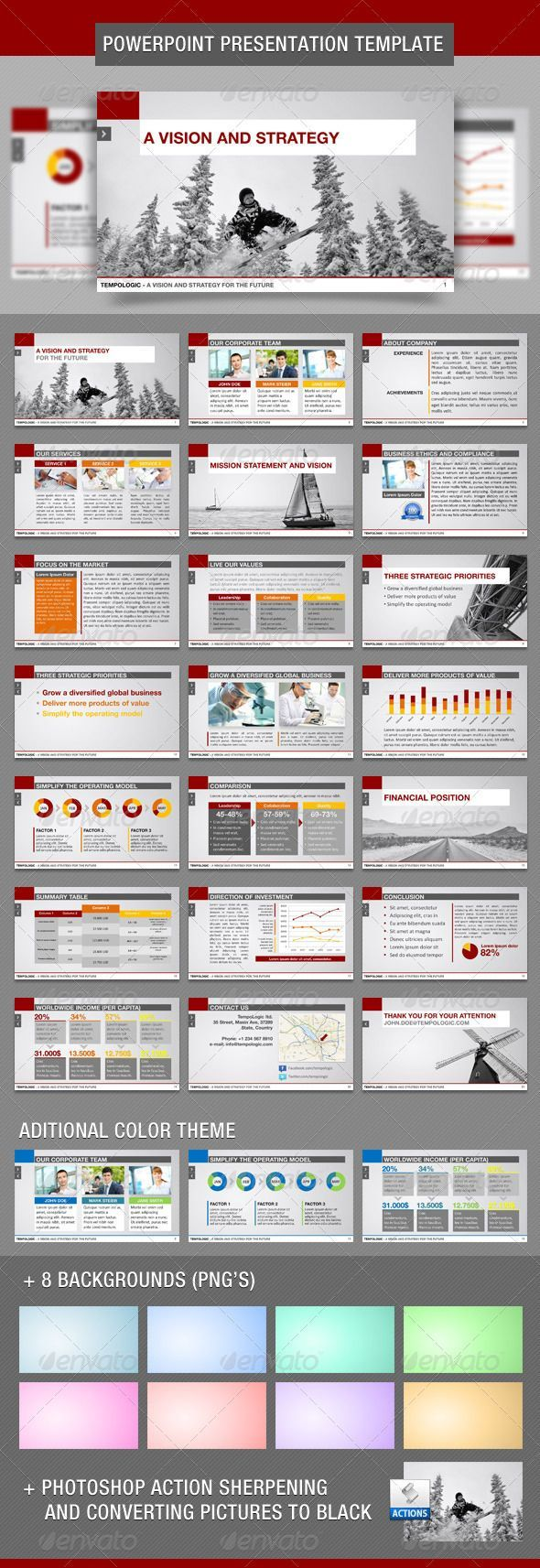 TempoLogic PowerPoint Template - GraphicRiver Item for Sale