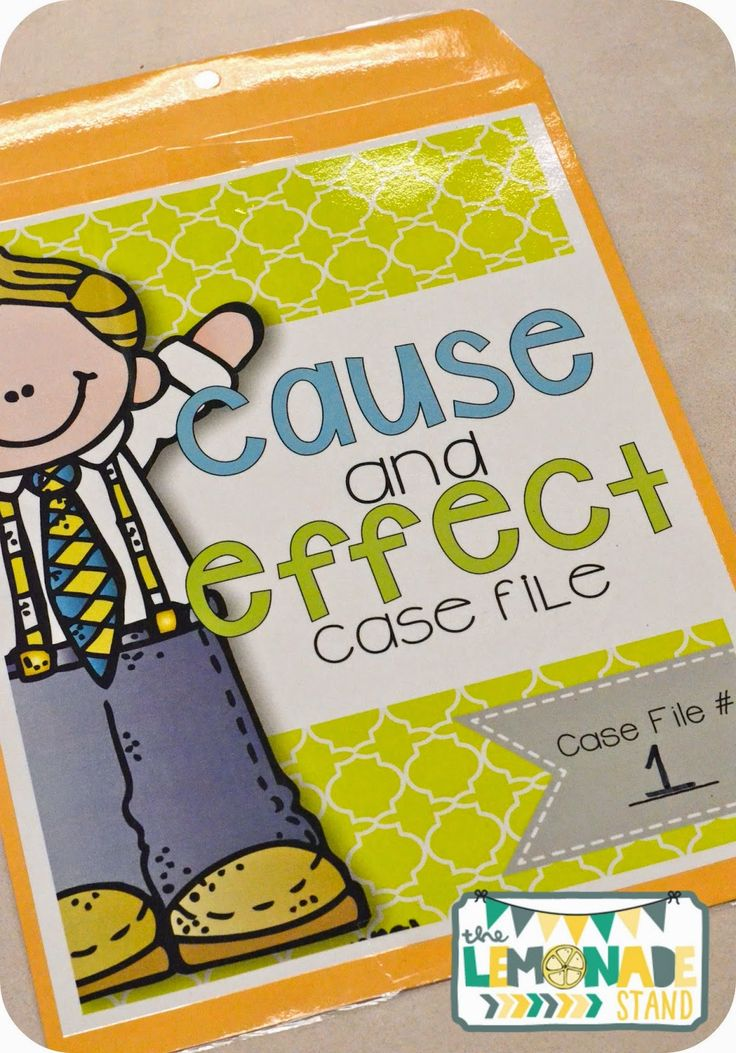 Cause and Effect case files, craftivities, exit tickets, interactive notebook templates, and more!  Tons of activities to supplement your cause and effect instruction!