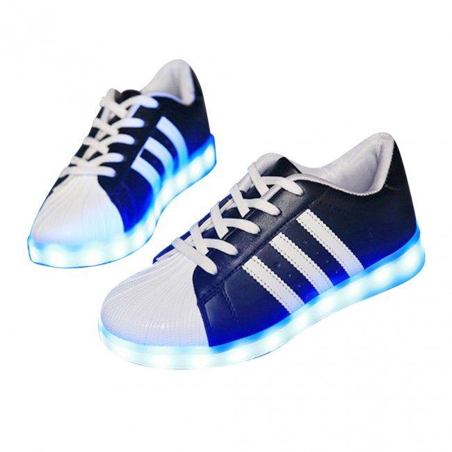 Chaussure Qui S'Allumen Rayures