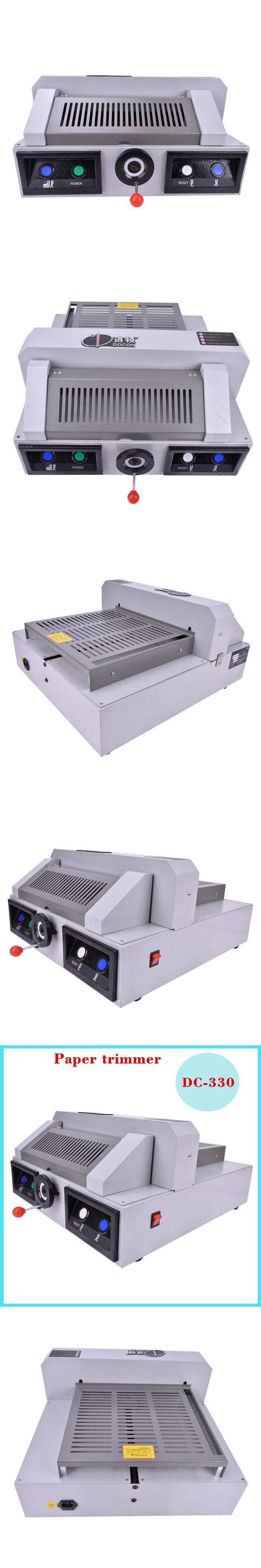 1PC DC-330 electric paper cutting machine,330mm desktop electric paper cutter machine,book cutting machine,paper trimmer