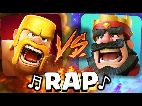 ¡Clash of Clans VS Clash Royale! RAP - [AdryBrix-Antrax] ☣ - YouTube