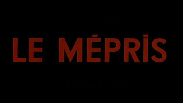 Le mépris (1963) | Jean-Luc Godard | Brigitte Bardot Michel Piccoli