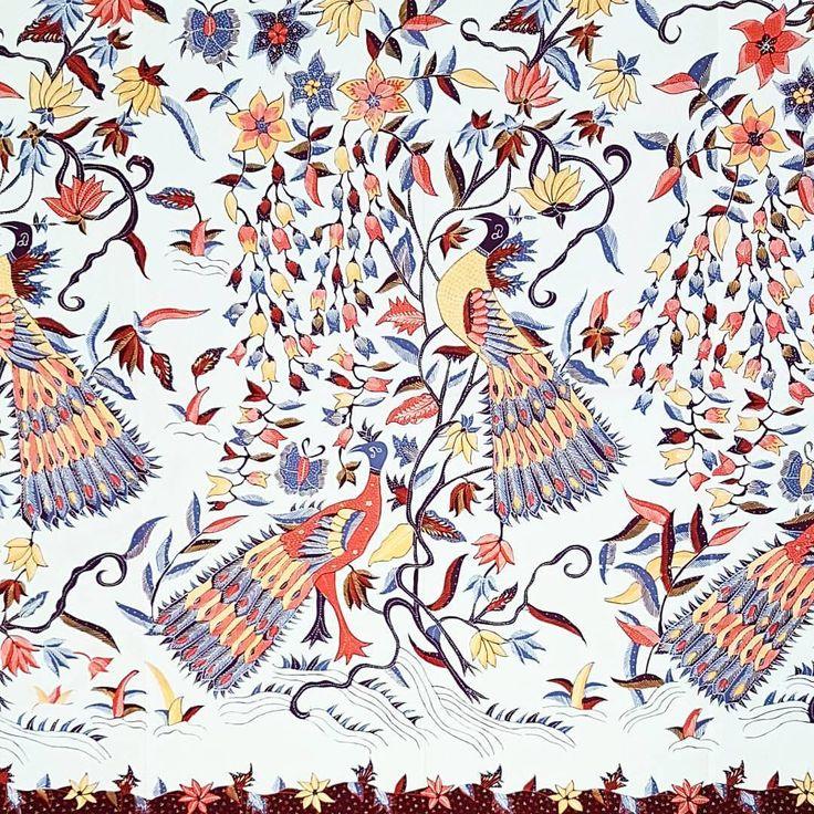 Batik Cirebon-Peacock