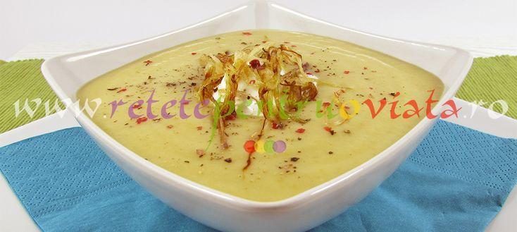 Supa-crema de cartofi cupraz este o supa economica, foarte gustoasa, rapid si usor de preparat. Putem pregati supe-creme dintr-o mare varietate de legume, avand ca baza cartoful. Se pot face o multitudine de combinatii de cartofi cu dovlecei, morcovi, telina, praz si alte legume. Modul de preparare este simplu: se fierb legumele pana se inmoaie […]