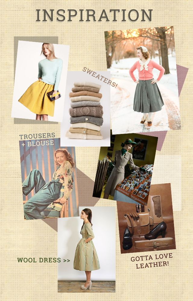Charlotte's Vintage Capsule Wardrobe // A/W Inspiration