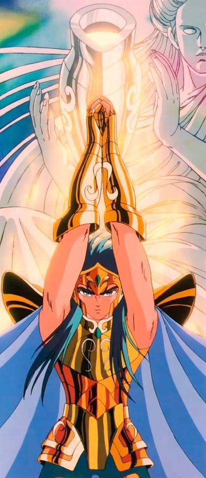Saint Seiya - Camus de Aquário - Ejecución De Aurora Técnica Definitiva