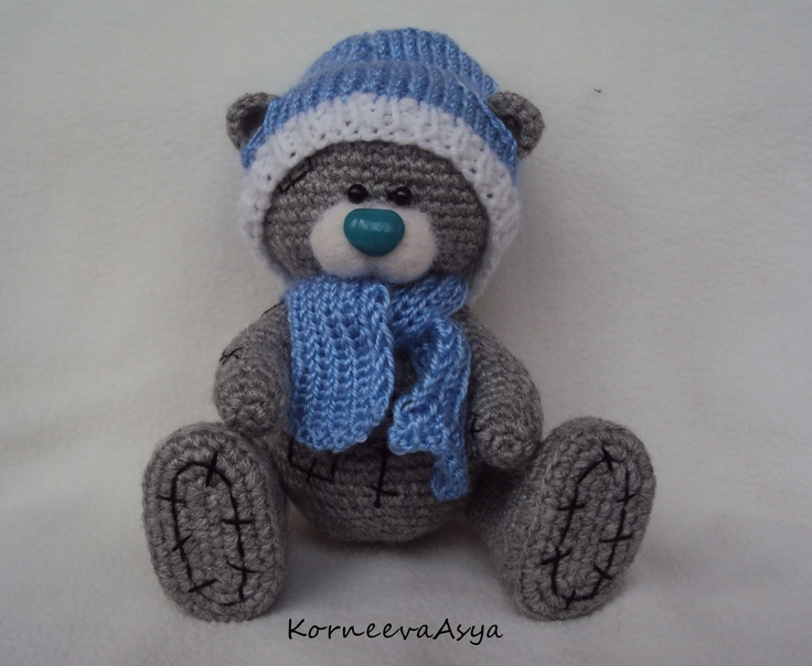 Crochet Teddy Bear : Pin by Susan DeVries on crochet teddy bears Pinterest