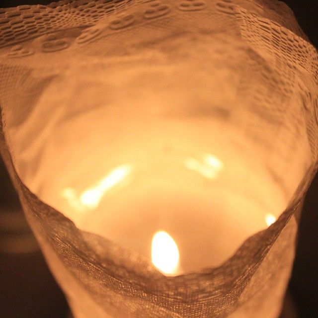 That to me is- #Light at the end of the #tunnel. #hope #peaceful #night #photography #candlelight #dinner