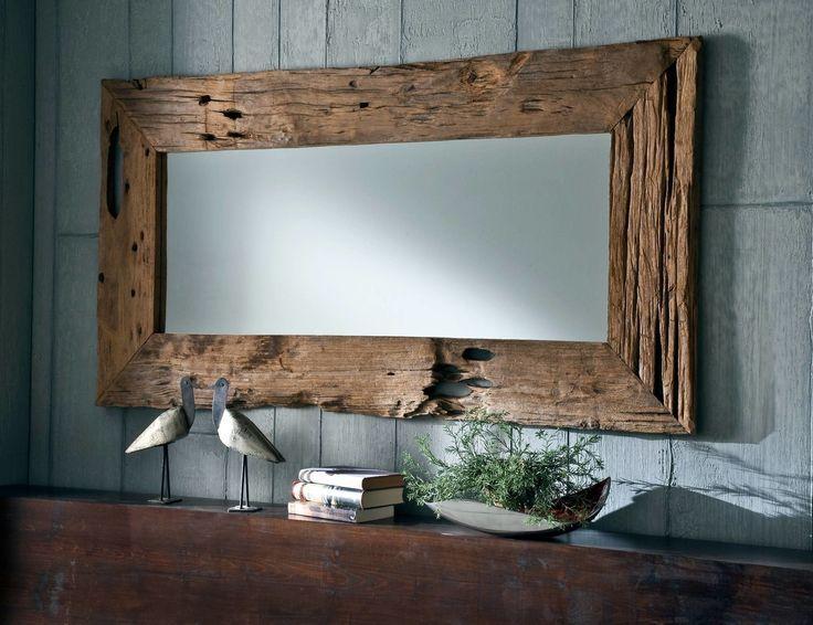 Teakholz Spiegel Unikat Bild 1 150cm X 80cm 360 6 Bis 8 Wochen