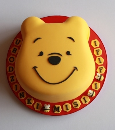 Winnie the Pooh By elmirka on CakeCentral.com