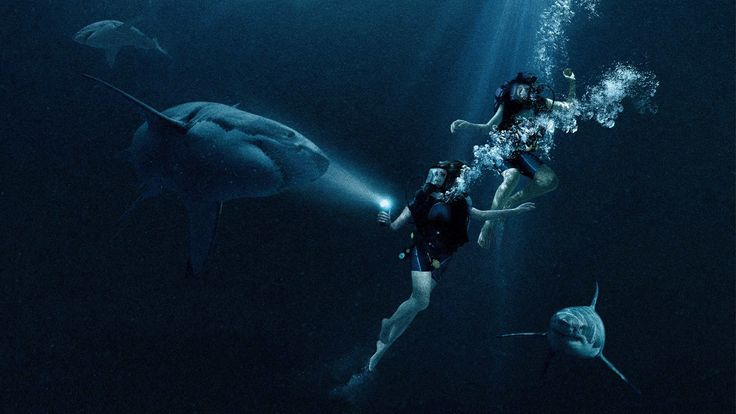Online 47 Meters Down Full Movie Two sisters on Mexican vacation are trapped in a shark observation cage at the bottom of the ocean, with oxygen running low and great whites circling....