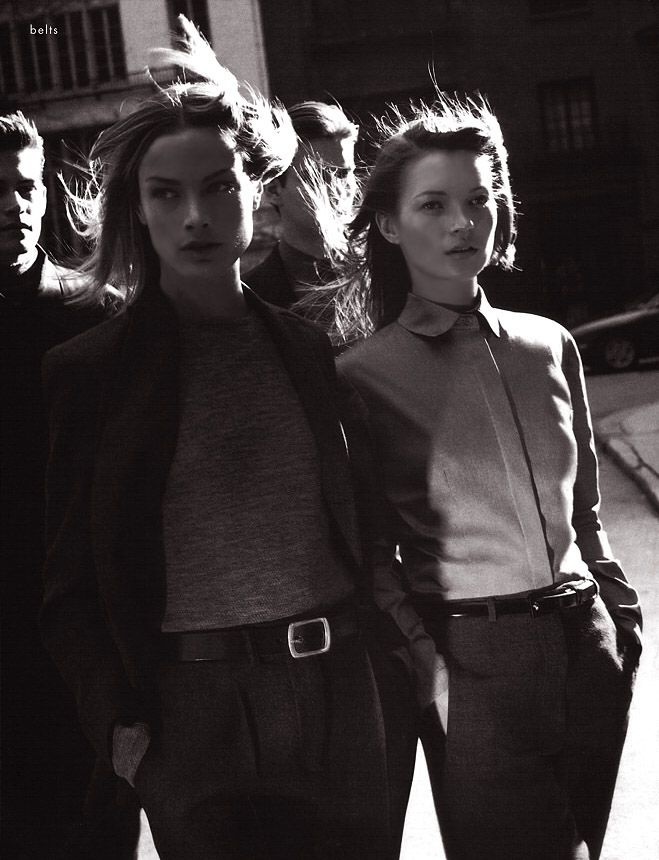 Carolyn Murphy & Kate Moss for Calvin Klein