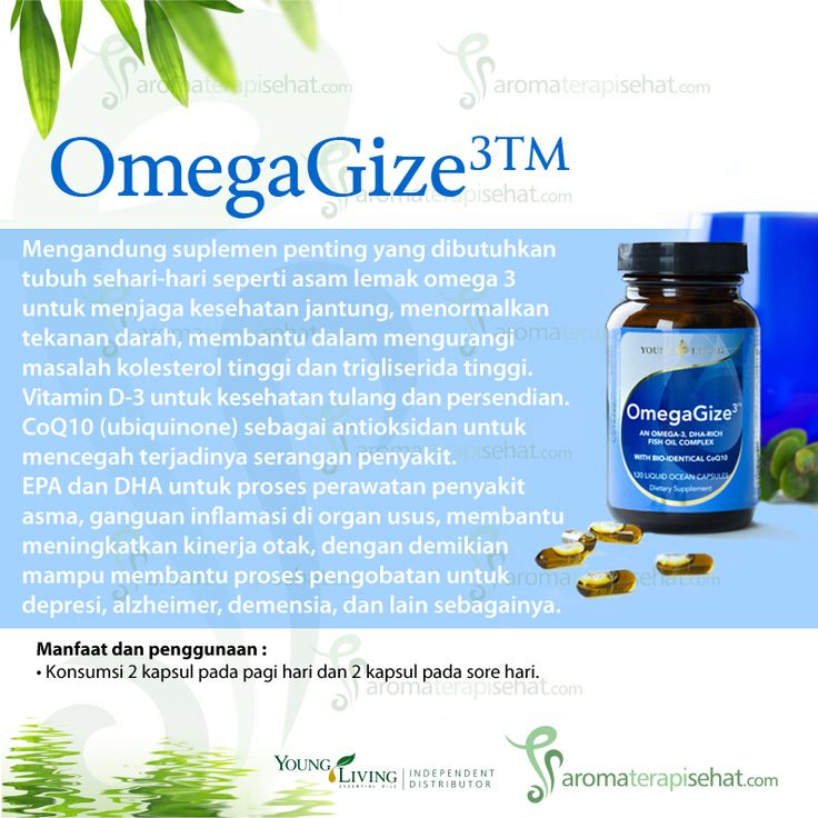 OmegaGize Supplement