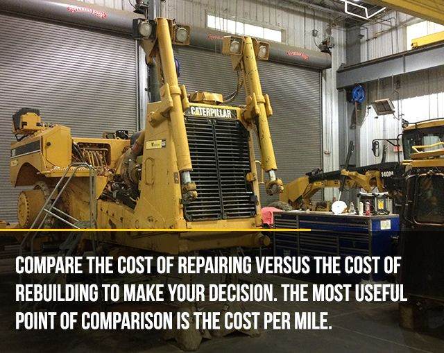 Replace or Rebuilt Equipment? This article breaks down the options for you.
