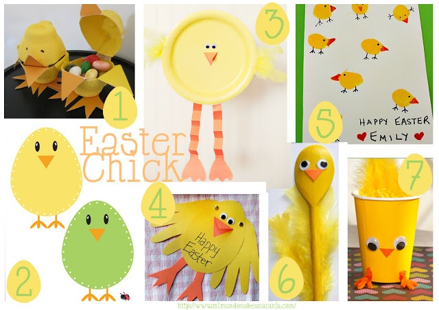 7 Ideas: Easter Chick
