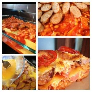 All Day Breakfast Lasagne - Free on Extra Easy Plan #slimmingworld #recipes #weightloss