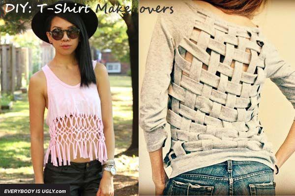 DIY T-Shirt make overs