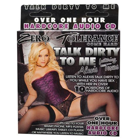 Zero Tolerance Talk Dirty To Me Audio CD Alexis Texas – Tickled Pink Temptations