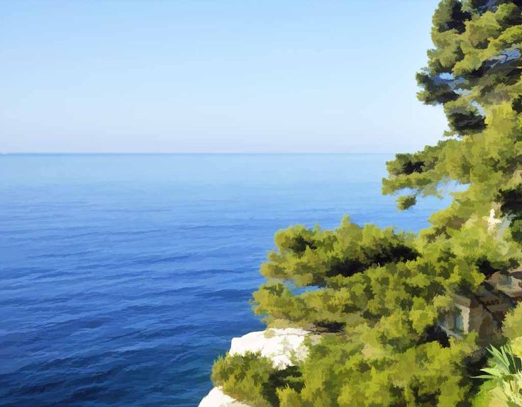 Cassis, discovery of the garden and the beach of Villa Esquinade