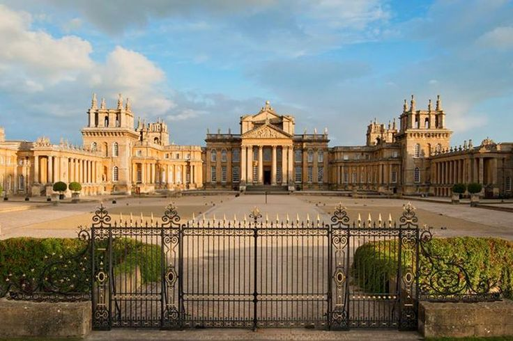 Blenheim Palace, Woodstock, Oxfordshire, England.