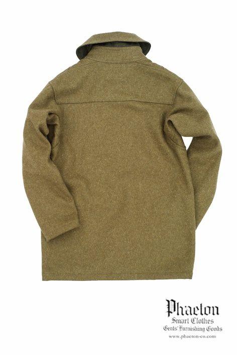 Nigel Cabourn FRANK DEBENHAM SEAMAN COAT Phaeton Smart Clothes Online Store
