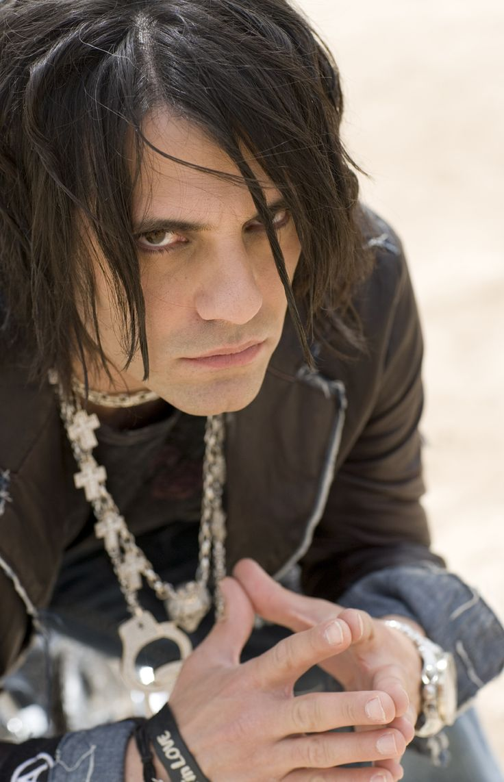 criss angel - O hell yea. Who doesnt love a man in eye liner?