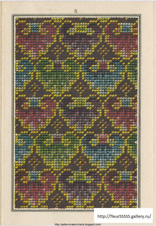 Gallery.ru / Фото #10 - Sajou 310 - Fleur55555  - Album de Tapisserie  Maison Sajou No 310  (06 of 10)