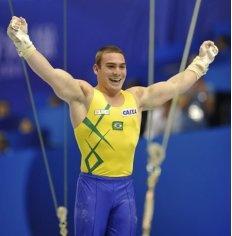 Arthur Nabarrete Zanetti - gymnastics Brazil (gold medalist rings)